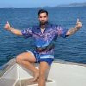 Kendji Girac : Torse nu et musclé, il fait couler le champagne pour ses 25 ans !