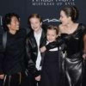 Angelina Jolie : Maman complice avec son fils Pax, la tension retombe