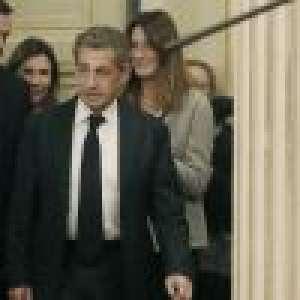 Carla Bruni-Sarkozy fière de son Nicolas, récompensé pour son livre