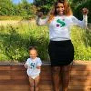 Serena Williams : Soulagée après une belle victoire, célébrée avec Olympia