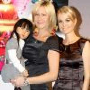 Luana Belmondo n'est plus la marraine de Jade Hallyday, rupture avec Laeticia