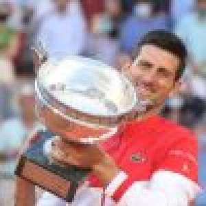 Novak Djokovic en roi à Roland-Garros : baiser à Jelena pour fêter sa victoire