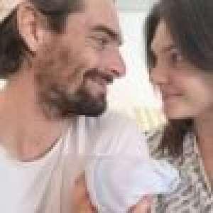 Camille Lacourt et Alice Detolleare parents de Marius : les caméras s'invitent chez eux