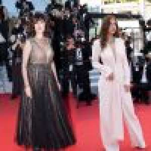 Cannes 2021 : Isabelle Adjani et Adèle Exarchopoulos, décolletés grandioses sur le tapis rouge