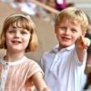 Albert de Monaco : 1er voyage officiel avec ses enfants Jacques et Gabriella à l'étranger