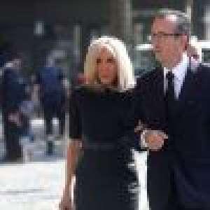 Obsèques de Florence Pinault : Brigitte Macron, Julie Gayet et François Hollande réunis