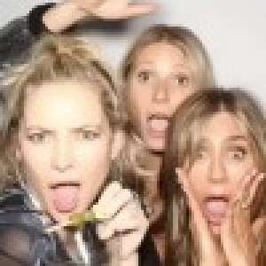 Jennifer Aniston : Photos dossier pour l'anniversaire de Kate Hudson