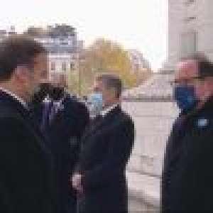 François Hollande : Sa question déroutante à Emmanuel Macron lors des commémorations