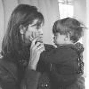 Ophélie Meunier maman comblée avec Joseph, elle montre enfin son visage