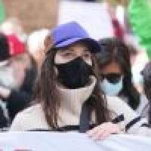 Marion Cotillard manifeste dans les rues de Paris, nouvelle action remarquée et forte