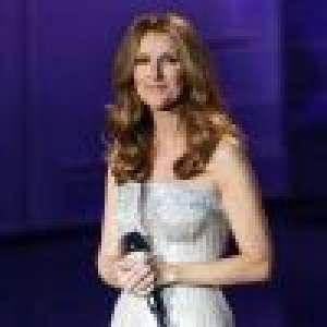 Céline Dion superbe en robe décolletée, promet