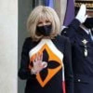 Brigitte Macron de retour en classe : en veste rock, la première dame joue les profs VIP