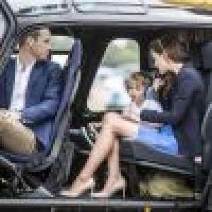 Kate et William : Voyage en hélico avec les enfants, George, Charlotte et Louis