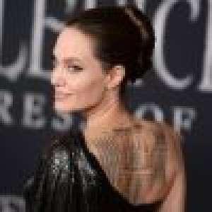 Angelina Jolie : Un nouveau tatouage lourd de sens... Brad Pitt en prend encore pour son grade !