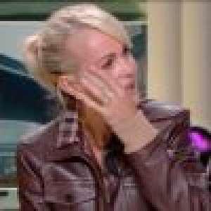 Laeticia Hallyday en larmes en revoyant Johnny :