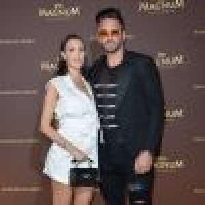 Nabilla enceinte : Décolleté plongeant et baby bump en avant à Cannes