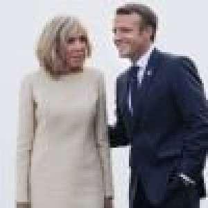 Brigitte et Emmanuel Macron enlacés à l'Élysée : photo d'une douce étreinte