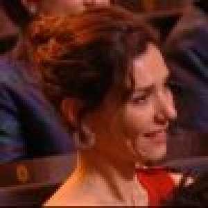 César 2020 : Doria Tillier très émue par les mots de Nicolas Bedos, récompensé