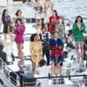 Fashion Week : Balmain et Olivier Rousteing défilent sur une péniche