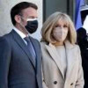 Brigitte Macron : Look monochrome et bracelet clinquant, sortie remarquée à l'Elysée