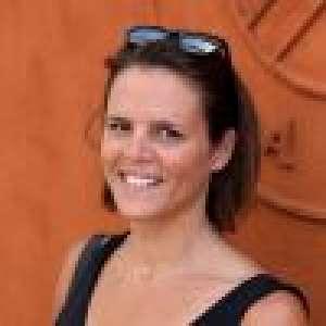 Laure Manaudou : Après-midi sans bébé à Roland-Garros, elle reprend du service
