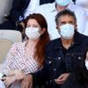 Roland-Garros : Julien Clerc et sa femme admiratifs, Tony Parker et sa belle Alizée aussi, les VIP se régalent