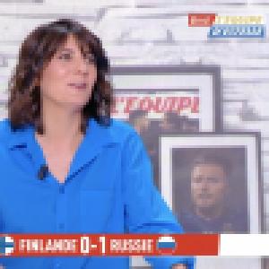 Estelle Denis moqueuse : elle affiche Raymond Domenech pour son look trop