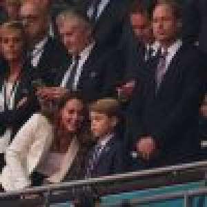 Finale de l'Euro 2020 : le prince George dépité, Kate et William face au rêve anglais brisé