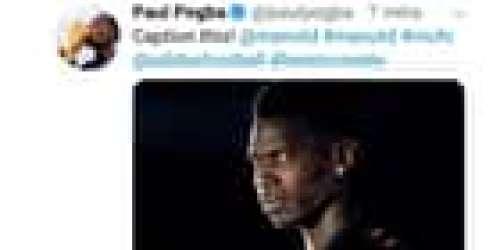 Ce tweet de Pogba posté après le départ de Mourinho... et rapidement retiré