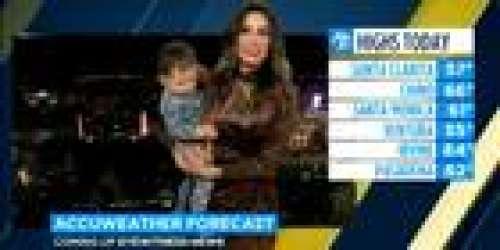 Une présentatrice météo se fait interrompre en plein direct par son bébé qui marche pour la première fois! (VIDEO)