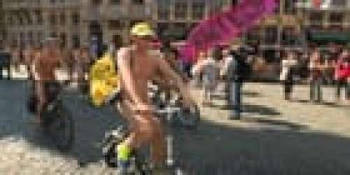 Quand France 2 oublie de flouter les parties intimes de cyclistes nudistes à Bruxelles (Mise à jour)