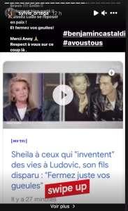 Sheila fait une violente mise au point sur son fils Ludovic Chancel, Sylvie Ortega réagit
