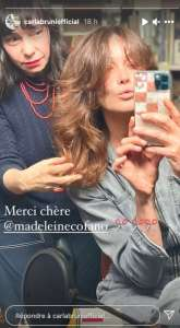 PHOTO Carla Bruni change de tête: la femme de Nicolas Sarkozy s'offre une nouvelle coupe de cheveux!