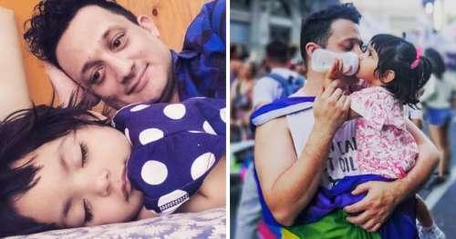 Un homme célibataire adopte une fillette qui a vécu à l'hôpital pendant un an et cela a changé leur vie