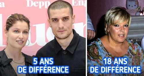 10 Femmes françaises célèbres en couple avec des hommes plus jeunes