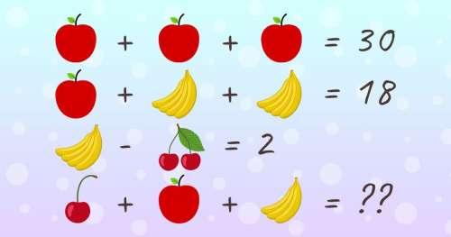 Test : 15 Énigmes mathématiques que peu de personnes parviennent à résoudre