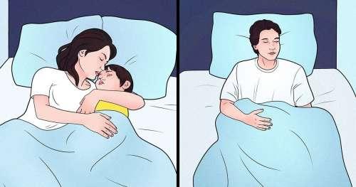 Pourquoi les couples mariés japonais dorment séparément ?