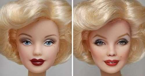 Un artiste transforme des poupées en célébrités réalistes