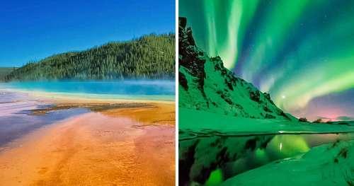 21 Paysages qui vont te surprendre pour leurs couleurs et leur beauté sans égale