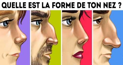 Test de personnalité : Une étude t'aide à en savoir plus sur toi-même en regardant la forme de ton nez