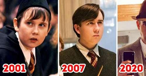 """Voici l'évolution de 14 acteurs de la saga """"Harry Potter"""""""