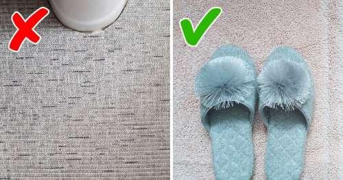 11 Objets dans la salle de bain qui feront fuir tes invités