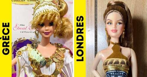 Voici à quoi ressemblent les poupées Barbie dans différentes parties du monde