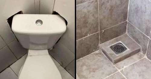 """16 Salles de bains dont la conception nous pousse à nous poser la question : """"Mais qu'est-ce qu'ils ont fait ?"""""""