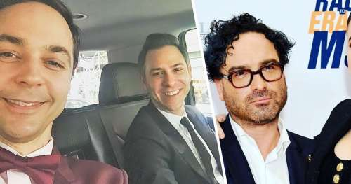 """10 Acteurs de la série """"The Big Bang Theory"""" avec leurs partenaires de la vraie vie"""