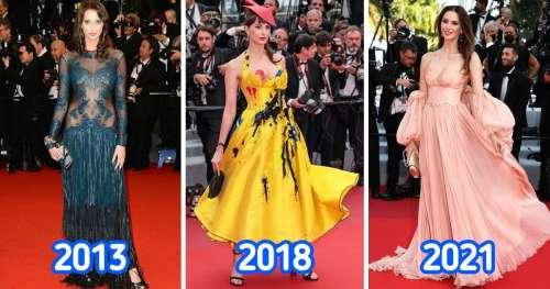 20 Looks de célébrités françaises au Festival de Cannes au fil de ces dix dernières années