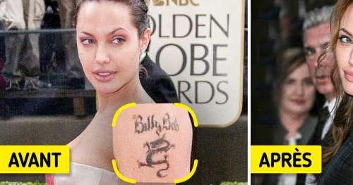 10 Célébrités qui ont décidé d'effacer ou de recouvrir leurs tatouages (nouvelle sélection)
