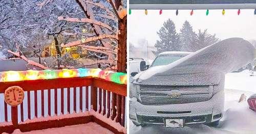 22 Photos qui montrent le pouvoir hypnotique de la neige