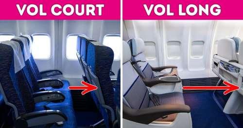 11 Détails importants d'un vol que la plupart des passagers ne remarquent jamais