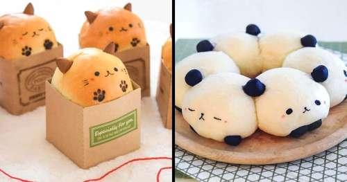 Une boulangerie japonaise fabrique des petits pains si moelleux et si mignons qu'il serait vraiment dommage de les manger